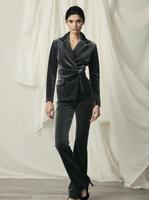 Chiara Boni La Petite Robe Venusette HW Velvet Pants