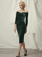 Chiara Boni La Petite Robe Suzie Velvet Dress