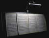 LED light/piano lamp from Sheargold Music