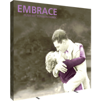 Embrace 10ft Extra Tall Push-Fit Tension Fabric Display (4x4)