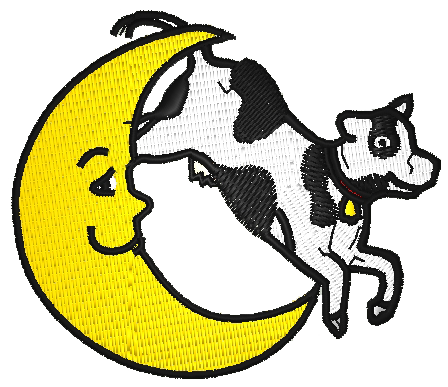 cow over moon