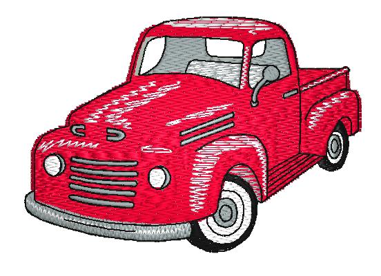 pickup old truck