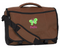 Personalized Kids Messenger Bag in Brown