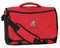 Personalized Kids Messenger Bag in Deep Red