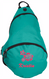 Kids Personalized Sling Backpack in Turquoise