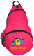 Kids Personalized Sling Backpack in Pretty Pink