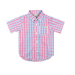 Checker Short Sleeve Shirt