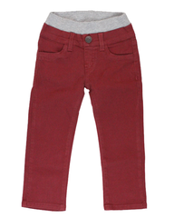 Garment Dyed Twill Pants - Rusty Red