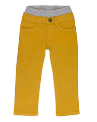 Garment Dyed Twill Pants - Yellow Gold