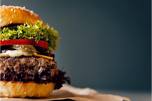 Flax Burger