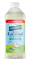 ORGANIC Coconut Cooking Oil, Unflavored 32oz