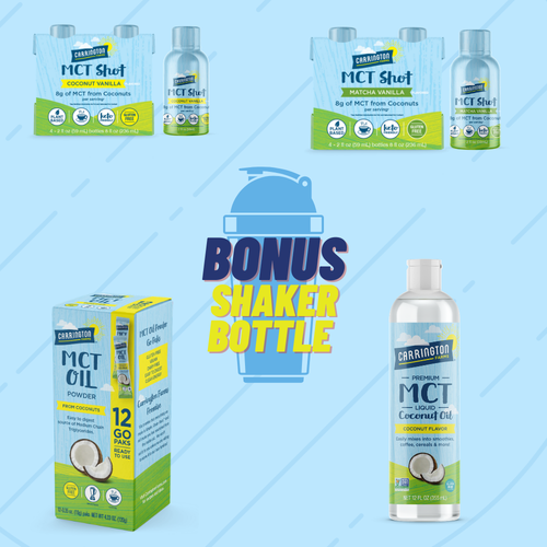 MCT Bundle - with Coconut Vanilla Shots