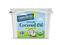Coconut Oil Tub, Organic, Virgin, 12oz