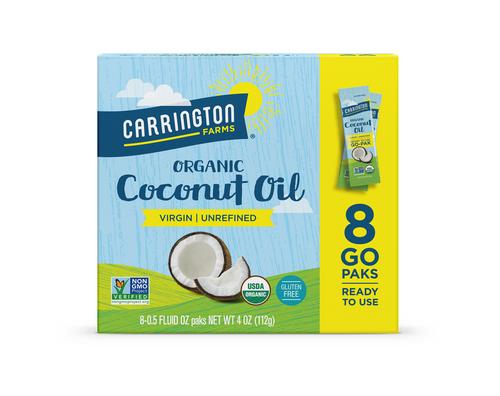 Organic Coconut Oil Paks, Virgin