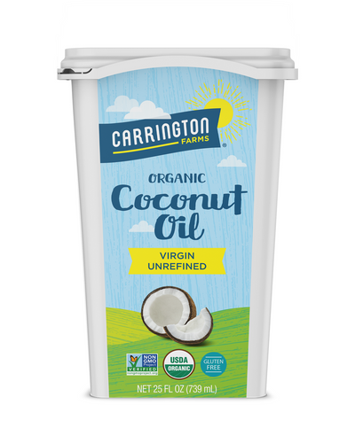 Organic Coconut Oil Tub, Virgin, 25oz