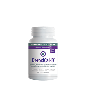 D'Adamo Nutrition, Detoxical-D (Formerly Estraphase) (90 caps)