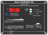 Blue Sky Energy Solar Boost Sun Charger 30, 30A, 12V Solar Charge Controller with Display