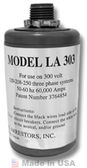 Delta LA303 AC Lightning Arrestor, Three Phase (3 or 4-Wire)