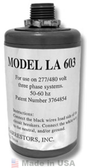 Delta LA603 AC Lightning Arrestor, Three Phase (4-Wire)