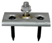 "EcoFasten Solar QF-S QuikFoot Stainless Steel Base Plate 1"" Stud"