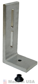 "EcoFasten Solar SIM-L-102-6"" Tall L Foot with Simple Seal Bushing"