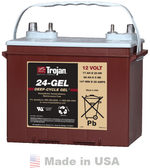 Trojan 24-GEL 12V, 77AH (20HR) Gel Battery