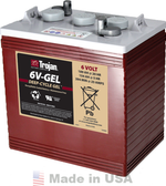 Trojan 6V-GEL 6V, 189AH (20HR) Gel Battery