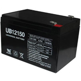 Universal UB12150 12V 15AH (20HR) Sealed AGM