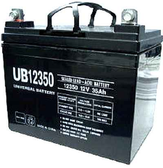 Universal Ub12350 12V, 35Ah (20Hr) Sealed Agm Batt