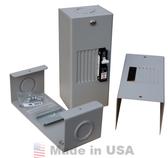 MIDNITE SOLAR BABYBOX 4 SLOT AC OR DC BREAKER PANEL