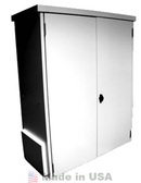 Midnite Solar MNBE-D3R Battery Enclosure w/ Locking Door