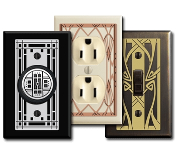 unique decorative switch plates - Decorative Light Switch Covers