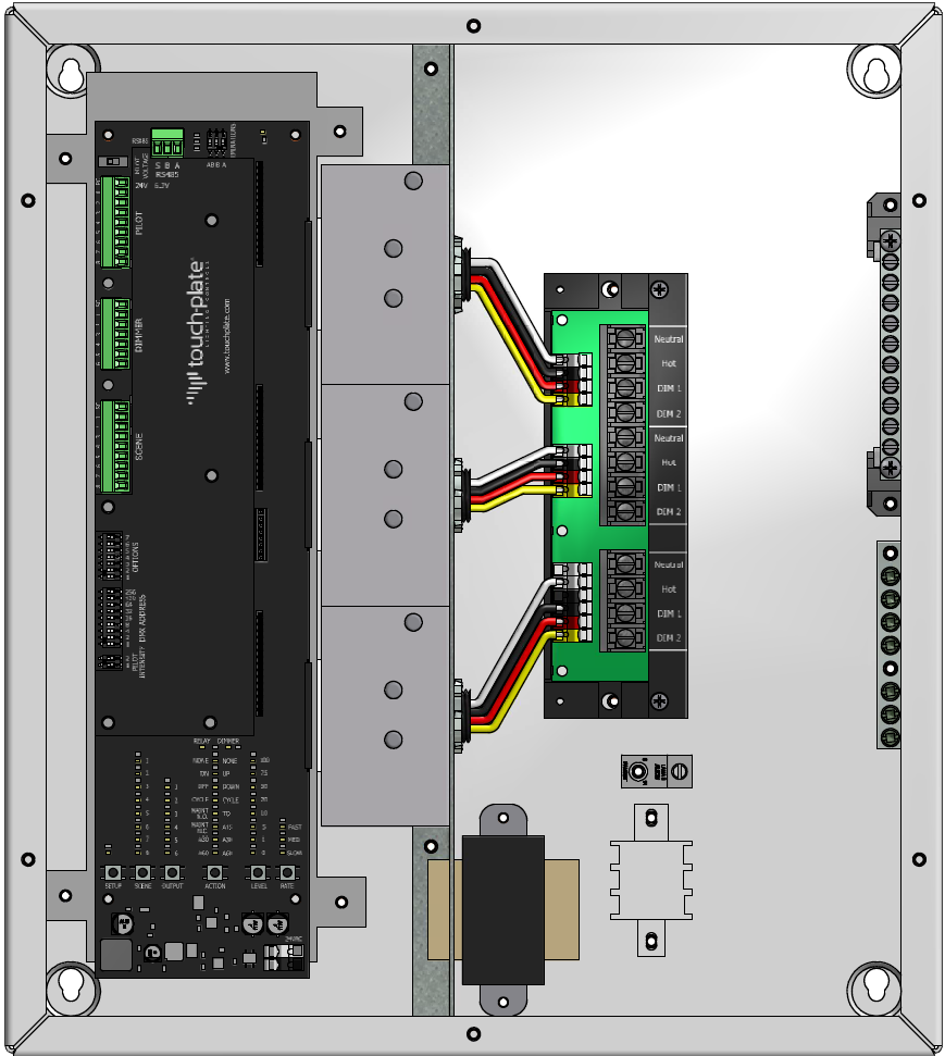 touch dimmer wiring diagram touch plate low voltage light dimmer control panel 600w zonez  light dimmer control panel 600w zonez
