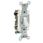 White 4 Way Toggle Switches Commercial Grade Leviton CS415-2W