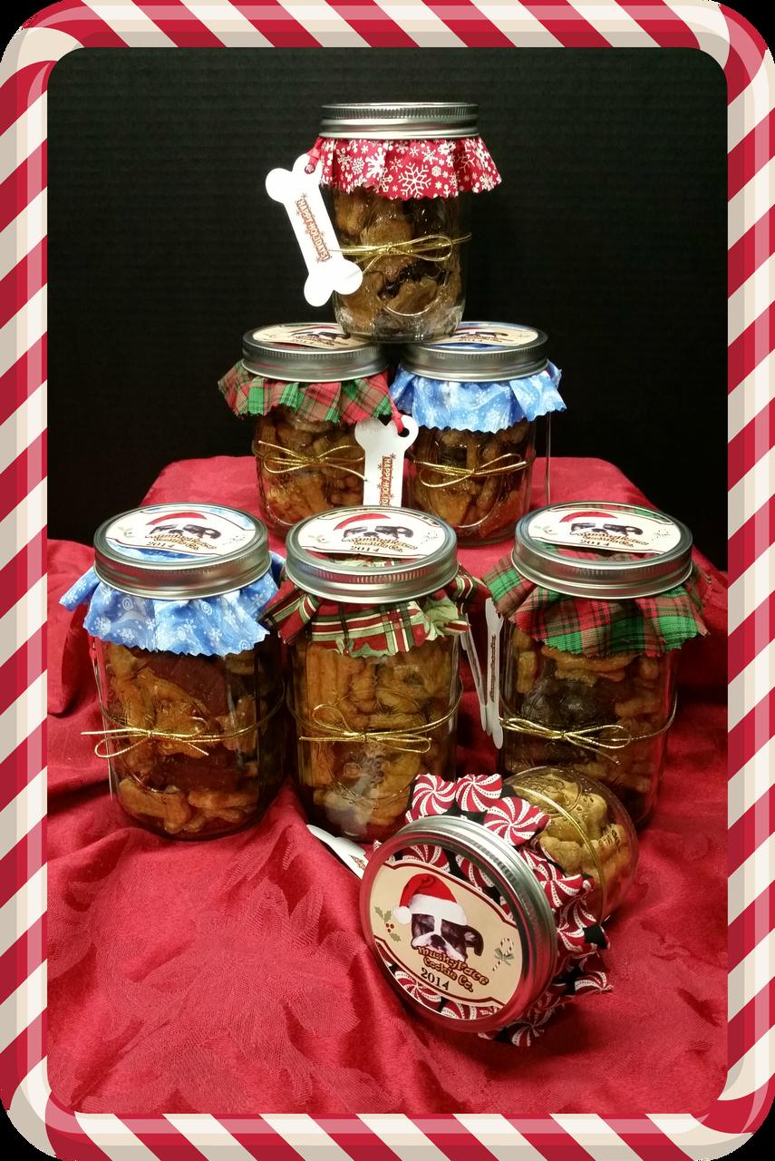 Small Holiday Gift Jar