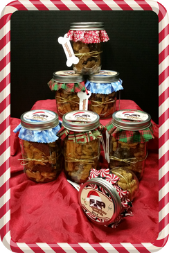 Large Holiday Gift Jar