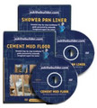 Shower Pan & Cement Mud Floor DVD Combo
