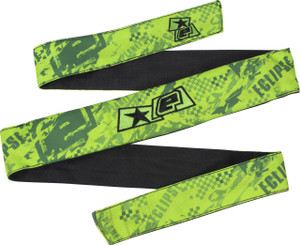 Eclipse Fracture Headband Lime