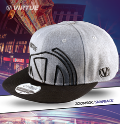 Virtue Snapback hat Grey