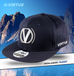 Virtue Flex Hat Navy