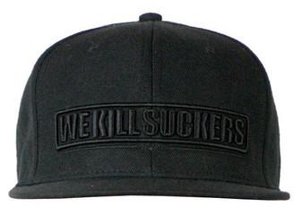 BK Snapback Cap Black
