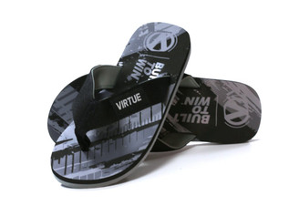 Virtue Onset Flip Flops Black US11