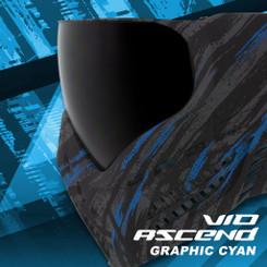 Virtue Vio Ascend Goggle Graphic Cyan