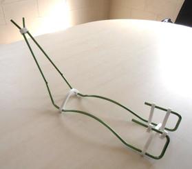 Wire Gun Stand - Green