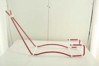 Wire Gun Stand - Red