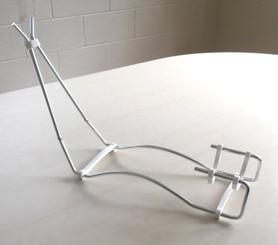 Wire Gun Stand - Siver