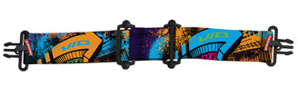 Virtue VIO Strap - Graffiti Orange Purple Cyan