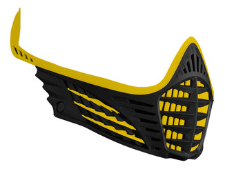 VIO Face Mask - Yellow/Yellow/Black