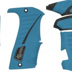 Eclipse LV1/Geo 3.1 Grip Kit Blue