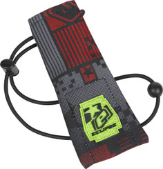 Eclipse Barrel Sock Pixel Red
